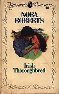 <i>Irish Thoroughbred</i> Novel by Nora Roberts