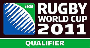 2011 Rugby World Cup – Asia qualification - Image: Rugby World Cup 2011 qualifier