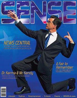 Sense magazine - Image: SENSE Magazine Cover 8
