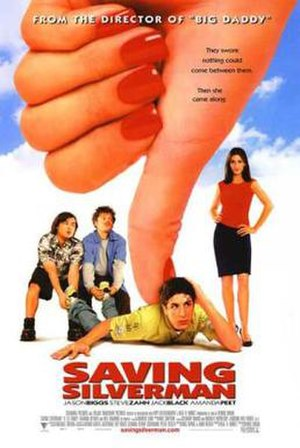 Saving Silverman - Theatrical release poster