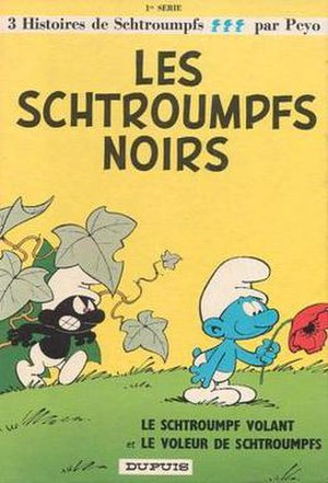 The Black Smurfs - Cover of the original French-language version