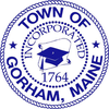 Official seal of Gorham, Maine
