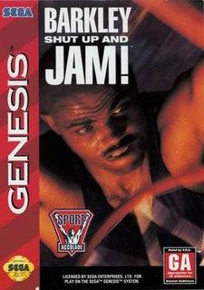 <i>Barkley Shut Up and Jam!</i> 1994 video game