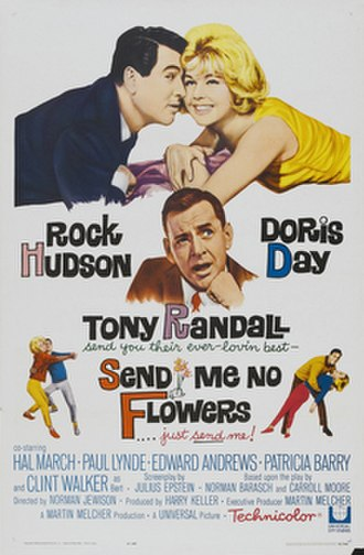 Send Me No Flowers - Theatrical release poster