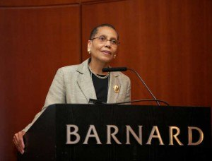 Sheila Abdus-Salaam - Abdus-Salaam speaking at Barnard College