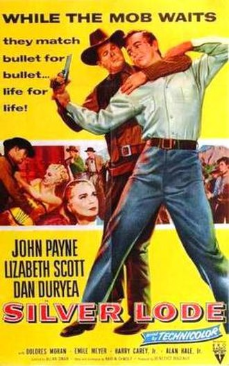 Silver Lode (film) - Theatrical release poster