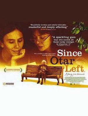 Since Otar Left - Image: Since Otar Left Film Poster
