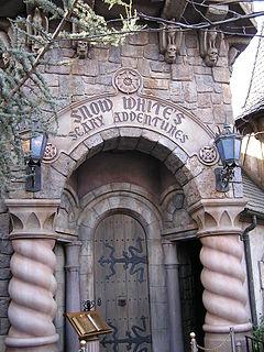 Snow Whites Scary Adventures dark ride at Disney theme parks
