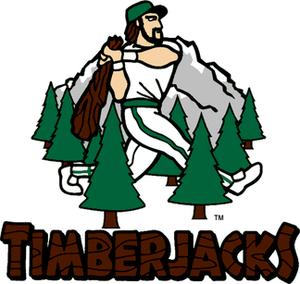 Southern Oregon Timberjacks - Image: Southern Oregon Timberjacks Main Logo