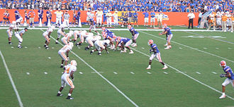 Spread offense - The 2007 Florida Gators running Urban Meyer's spread option.