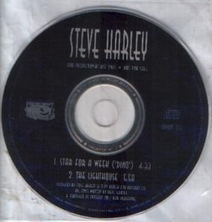 Star for a Week (Dino) - Image: Steve Harley Star for a Week Single 1993