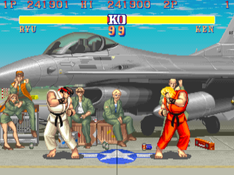Fighting game - Although Street Fighter II was not the first fighting game, it popularized and established the gameplay conventions of the genre