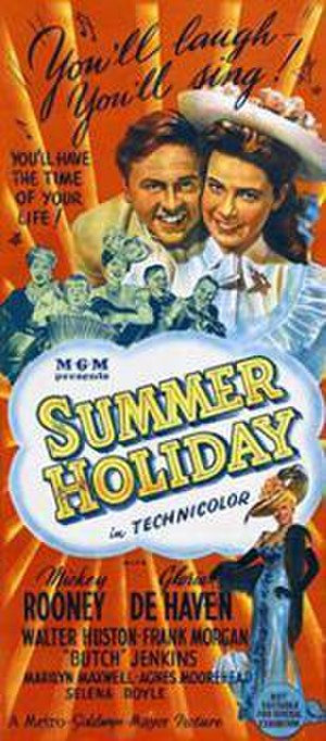 Summer Holiday (1948 film) - Australian theatrical release poster