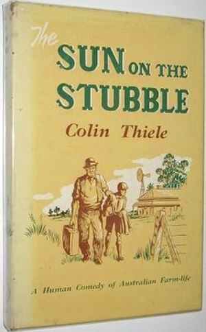 Sun on the Stubble - First edition (publ. Rigby, Adelaide)