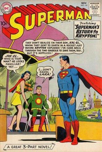 Lara (comics) - Image: Superman 141, November 1960