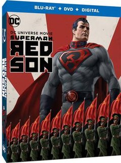 <i>Superman: Red Son</i> (film) Animated film by DC Comics