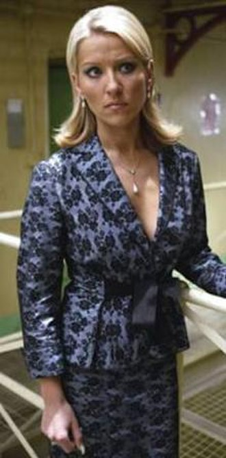 Bad Girls (TV series) - Tanya Turner crosses over from sister show Footballers' Wives to endure a short stay at Larkhall (Series 6)