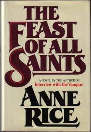 The Feast of All Saints (novel) - First edition cover