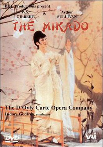The Mikado (1967 film) - Promotional poster featuring  Valerie Masterson as Yum-Yum