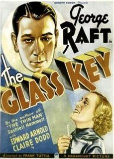 <i>The Glass Key</i> (1935 film) 1935 film by Frank Tuttle