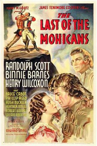 The Last of the Mohicans (1936 film) - Image: The Last of the Mohicans 1936 Poster