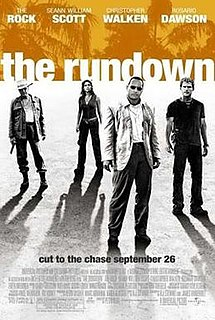 <i>The Rundown</i> 2003 film by Peter Berg