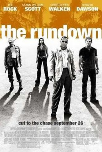 The Rundown - Theatrical release poster