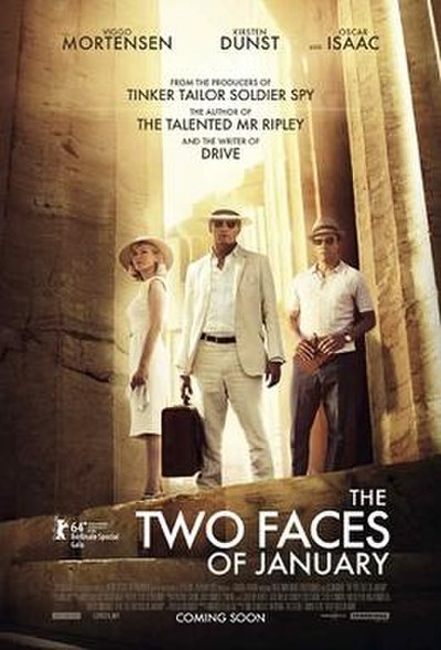 Picture of a movie: The Two Faces Of January