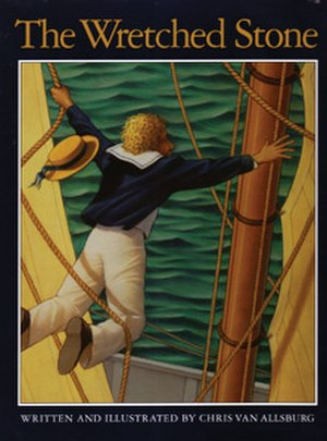 The Wretched Stone - Image: The Wretched Stone (Chris Van Allsburg book) cover art