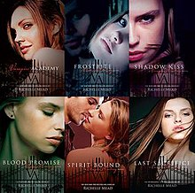 The covers of the six Vampire Academy books.jpg