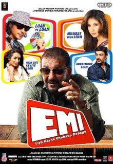 EMI (2008) SL DM - Sanjay Dutt, Arjun Rampal, Urmila Matondkar, Aashish Chowdhry, Neha Oberoi, Malaika Arora
