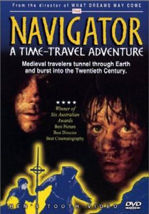 The Navigator: A Medieval Odyssey - The Navigator DVD cover