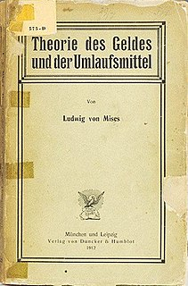 <i>The Theory of Money and Credit</i> book by Ludwig von Mises