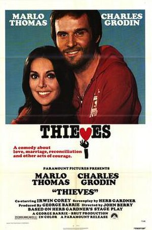Thieves (1977 film) - Theatrical release poster