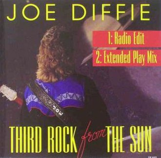 Third Rock from the Sun (song) - Image: Third Rock from the Sun single