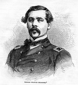 Waterford born Brigadier General Thomas Francis Meagher