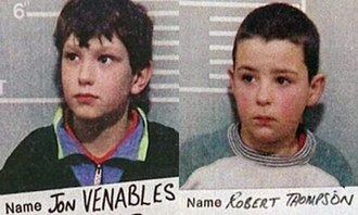 Murder of James Bulger - Mug shots of Venables and Thompson taken at the time of their arrest