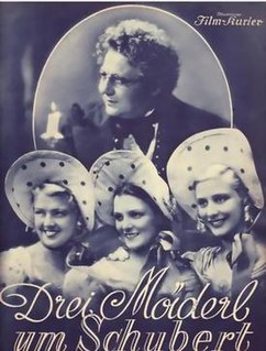 <i>Three Girls for Schubert</i> 1936 film