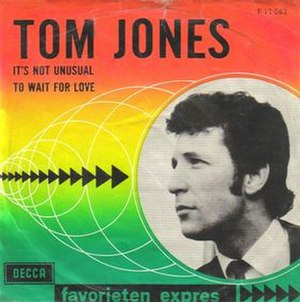 It's Not Unusual - Image: Tom Jones It's Not Unusual