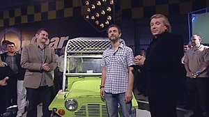 Top Gear Australia - Top Gear Australia season 1 presenters from L to R: Warren Brown, Steve Pizzati, Charlie Cox.