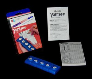 Yahtzee - 1986 Travel Yahtzee