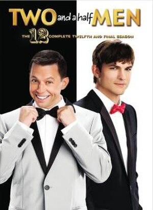 Two and a Half Men (season 12) - DVD cover art