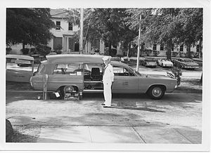 Charleston Naval Hospital Historic District - U.S. Navy Ambulance
