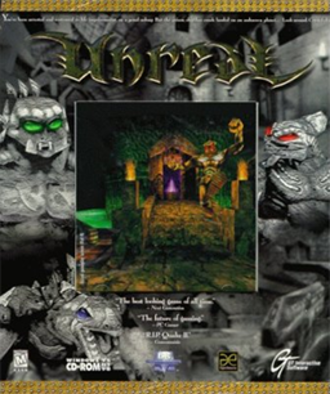 Unreal (1998 video game) - Image: Unreal Coverart