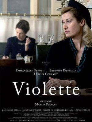 Violette (2013 film) - Film poster
