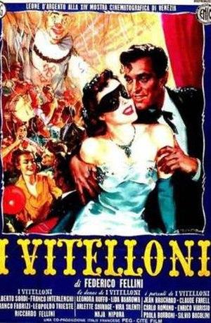I Vitelloni - Italian theatrical release poster