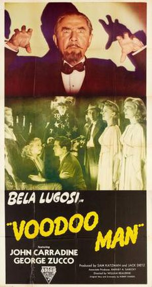Voodoo Man - Promotional release poster
