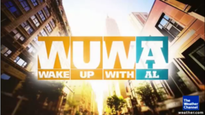 Wake Up with Al - Second logo, used from April to November 2012.