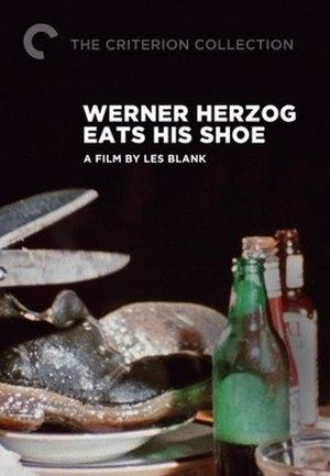 Werner Herzog Eats His Shoe - Image: Werner Herzog Eats His Shoe