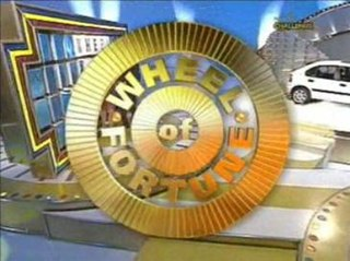 <i>Wheel of Fortune</i> (British game show) British television game show